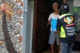 Di Purwokerto, puluhan ojek daring bantu pendistribusian daging kurban