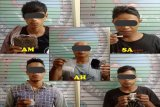 Polisi Jayapura Kota tangkap lima pemilik sabu-sabu