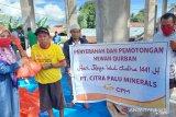 CPM salurkan 10 hewan kurban kepada warga Poboya