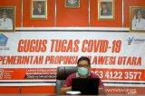 Angka kesembuhan COVID-19  Sulut lampaui pasien dirawat