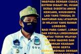 Pemkot Manado  imbau  masyarakat waspada bencana