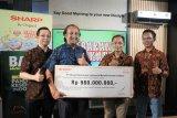 Sharp Indonesia donasikan Rp 980 juta apresiasi perjuangan tenaga kesehatan COVID-19