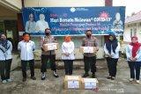BPP Kendari gandeng Brimob Sultra distribusi masker ke warga Pomala