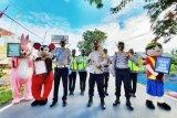 Polres Pulang Pisau edukasi masyarakat cegah COVID-19 melalui razia humanis