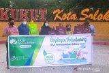 BPJAMSOSTEK cabang Solok edukasi warga kurangi penggunaan plastik