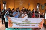 KPPD Kalteng sosialisasikan pilkada tingkatkan partisipasi pemilih pinggiran