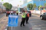 Sebanyak 80 personel dikerahkan untuk sosialisasi ganjil genap di Jakarta