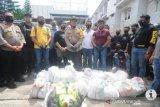 200 kilogram sabu-sabu di Banjarmasin jaringan Malaysia