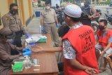 Sebanyak 21 tahanan Polresta Palangka Raya jalani tes cepat COVID-19