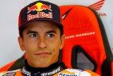 Marquez sambangi paddock  di Catalunya
