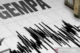 BMKG catat lima kali kejadian gempa bumi di wilayah Sumbar sejak sepekan terakhir