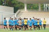 Pelatih Shin Tae-yong sejalan dengan PSSI soal penundaan latihan timnas