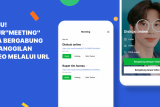 Aplikasi LINE Meeting buat fitur panggilan video melalui URL