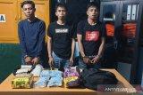 BBN tangkap tiga kurir bawa 2 kg sabu dan 3.400 butir ekstasi