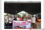 Bank Citra bantu bahan pangan korban banjir di Bolaang Mongondow Selatan