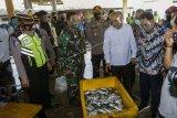 Menteri Koperasi dan UKM di Pelabuhan Perikanan Nusantara Pekalongan
