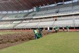 Rumput lapangan Stadion GBT Surabaya diganti standar FIFA