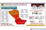 Jumlah kasus positif COVID-19 di Palangka Raya capai 710 orang