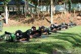 Prajurit Lanud Silas Papare Jayapura tingkatkan profesionalisme melalui latihan menembak