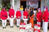 Jumat Berkah Istri Kasad untuk  warga Dayak Tawoyan dan panti asuhan