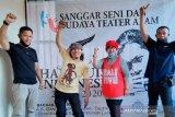 Pengelola museum pejuang AK Gani Palembang siapkan  panggung seniman