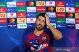 Liga Spanyol: Suarez menangis saat berpamitan dengan Barcelona