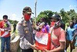 Warga Airu Jayapura apresiasi aksi Adventure Merah Putih bagi sembako