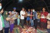 Dompet Dhuafa Sumsel bantu sembako korban kebakaran di Palembang