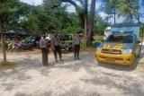 Minimalkan potensi penularan COVID-19 polisi Bangka Barat pantau penerapan protokol kesehatan objek wisata
