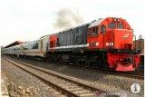 Volume angkutan barang menggunakan kereta api di Lampung turun