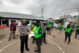 Polda Papua berikan sembako kepada driver Gojek Merauke