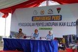 KKP-Polri menggagalkan penyelundupan 54,9 ton ikan patin