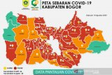 Ada 28 kecamatan di Bogor masih berstatus zona merah COVID-19