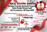 Kwarcab Pramuka Pringsewu akan gelar donor darah