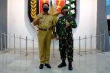 Pangdam Jaya Mayjen Dudung Abdurachman berpamitan Wali Kota Magelang