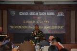 Danrem 172/PWY gelar pertemuan dengan tokoh gereja untuk wujudkan Papua tanah Damai