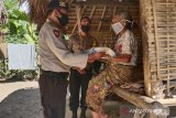Polres Lombok Barat kembali menyalurkan bantuan 10 ton beras