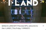 Cuplikan kehadiran BTS di 'I-LAND'