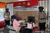 Polwan Polda Sumsel lakukan donor atasi  krisis darah