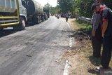 Ulah warga bakar ban di jalan, lalu lintas Padang-Pasaman Barat macet sepanjang 4 kilometer (Video)