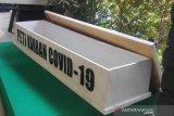 Jakarta Pusat gunakan peti jenazah untuk sosialisasi bahaya COVID-19