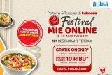 1.000 menu kuliner mie hadir di Blibli untk mendorong pertumbuhan UMKM