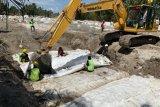 Cegah banjir, Kementerian PUPR bangun tanggul di Kabupaten Luwu Utara