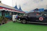 BPBD Kesbangpol semprot disinfektan sebelum sekolah di Padang Panjang dimulai
