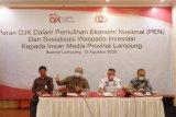 Program relaksasi OJK bantu dunia usaha di Lampung saat pandemi