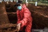 Insentif tak kunjung cair, penggali makam jenazah COVID-19 mengeluh