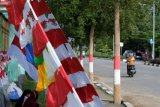 Masa pandemi, omzet penjualan atribut HUT RI menurun