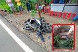 Kecelakaan maut, seorang pria meninggal dilindas truk di jalan raya Lombok Tengah
