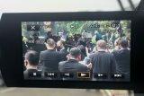 Berbaju adat Sabu, Presiden Joko Widodo tiba di Sidang Tahunan MPR