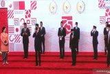 Presiden kembali tiba di DPR, sampaikan pidato RAPBN 2021